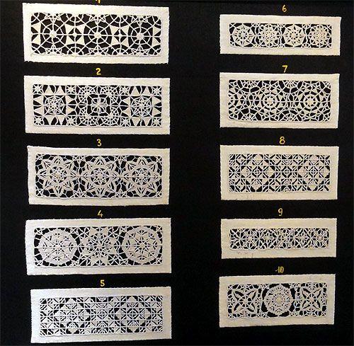 Italian Reticella Lace - 19th Century - Collection DMC ~  11021_m236 Paris - Exposition de dentelles - Salon l'Aiguille en fête 2011 - La Villette