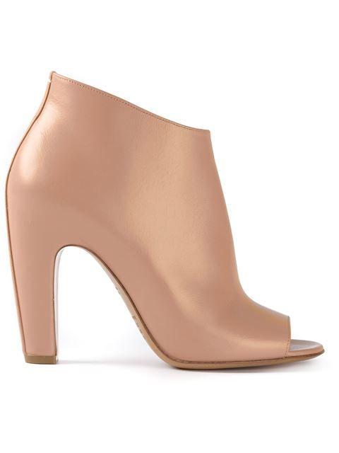 ___maison margiela__peep toe ankle boots 38Wp0349_100% leather_637€