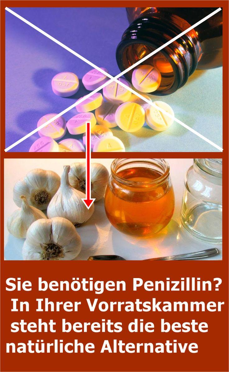 Sie benötigen Penizillin? In Ihrer Vorratskammer steht bereits die beste natür…