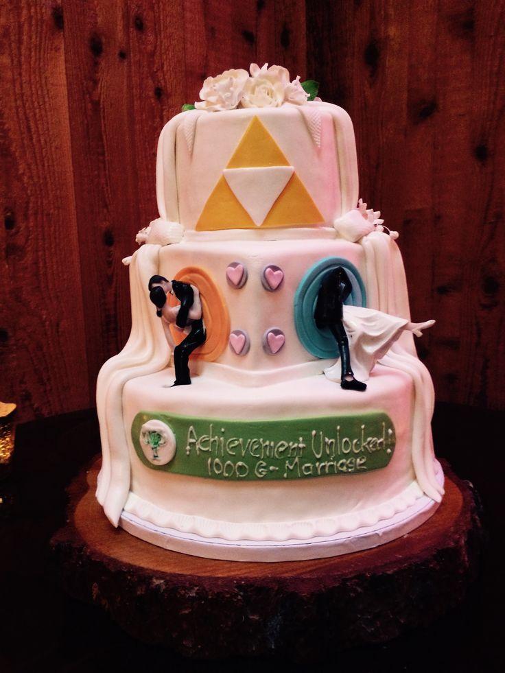 My Cousins Wedding Cake (Portalmore)