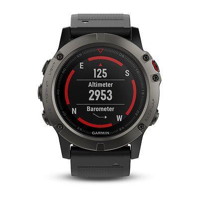 Garmin Fenix 5X GPS Solo Reloj Zafiro Gris con Correa Negra por 520 €  Fenix 5X es el reloj multideporte con GPS para deportistas y aventureros. De este modo, podrás superar tus resultados y tendrás la seguridad de encontrar el camino de vuelta.   #fenix #Garmin #gps #oferta #Reloj