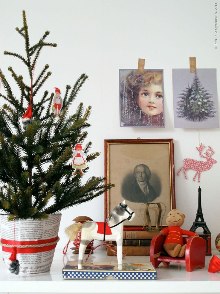 ikea christmas and trees on pinterest. Black Bedroom Furniture Sets. Home Design Ideas