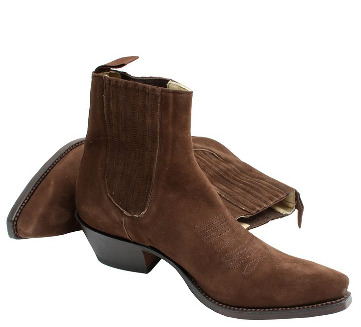Suede ankle boot from R SOLES