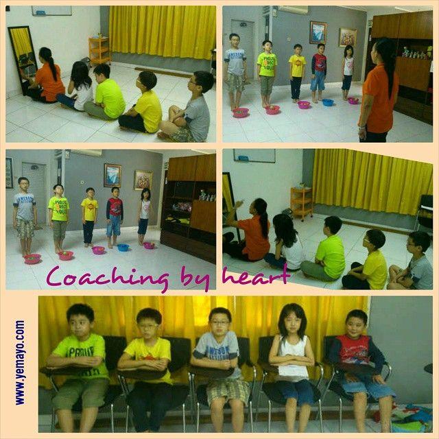Coaching by heart; #fun #serious #discipline ... but always #happy ... #love #like #yemayoaec #pluit #jakarta #indonesia #instalike #photooftheday