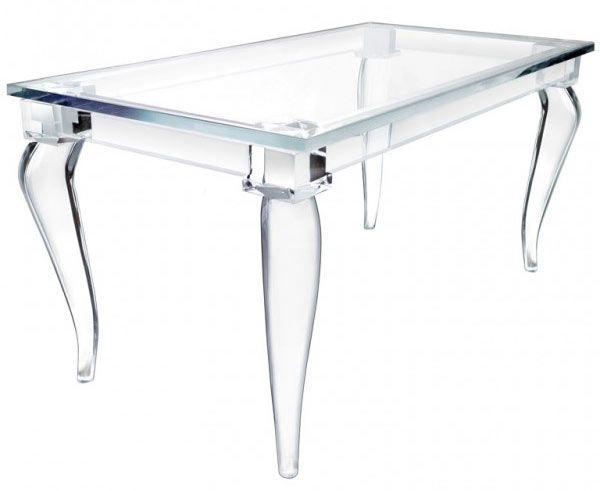 Magic Design Of Alexandra Von Furstenbergu0027s Acrylic Furniture