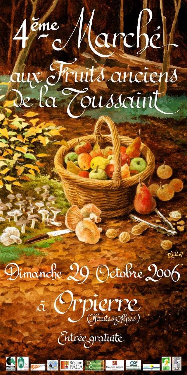 Orpierre 29 Octobre 2006 #orpierre #produitslocaux #baronnies