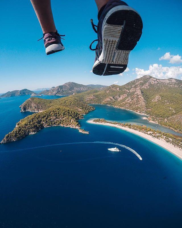 @buraktuzer walking on air while paragliding over Turkey @GoPro