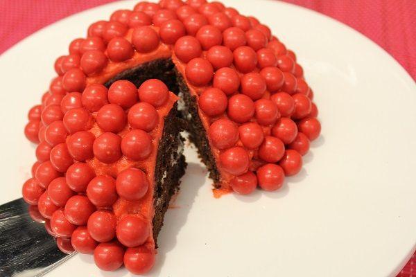Red Nose Chocolate Cake
