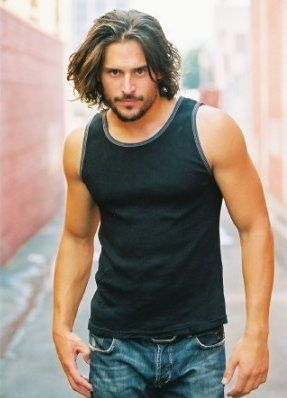 Hey, give this man some blue contacts and maybe casting Roarke won't be so hard after all. (Joe Manganiello)