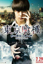 Tokyo Ghoul (2017) Action Drama Horror. A Tokyo college student is attacked by a ghoul, a superpowered human who feeds on human flesh. He survives, but has become part ghoul and becomes a fugitive on the run. Japanese movie.