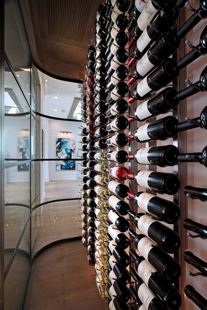 Home interior wine rack