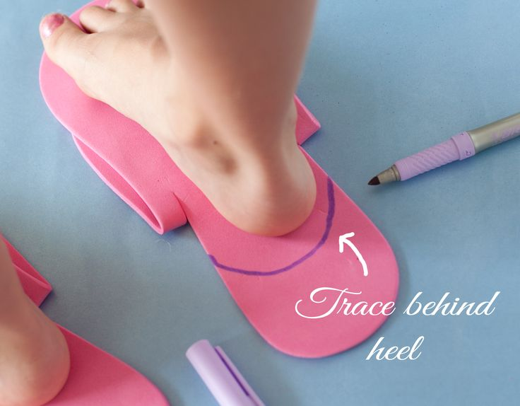 {Tutorial} Spa Pedicure Shoes