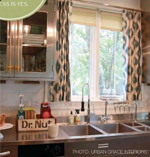 Kitchen Window Cafe Curtains: 129 Best Images About Window Designs On Pinterest
