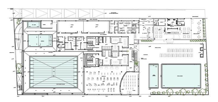 """Galería de Centro acuático deportivo """"L´ARGILA"""" / AC-ARCHITECTURE - 50"""