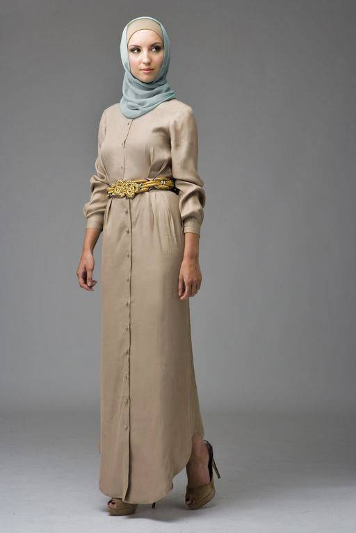 Long Button Cannes Dress - Hijab House Online Australia  on my list