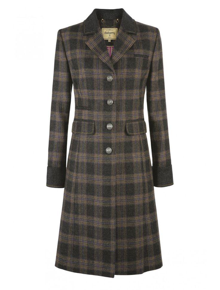 Dubarry Blackthorn Ladies' 3/4 Length Tweed Jacket  #QHCongress13…