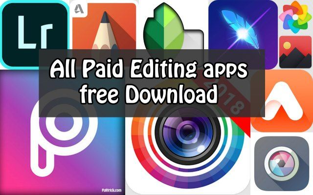 Photo editing free download app