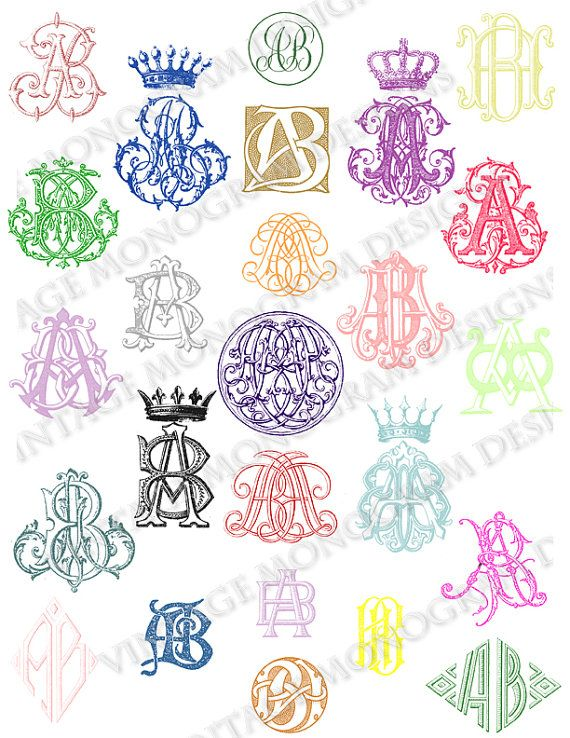 Best monogram images on pinterest embroidery