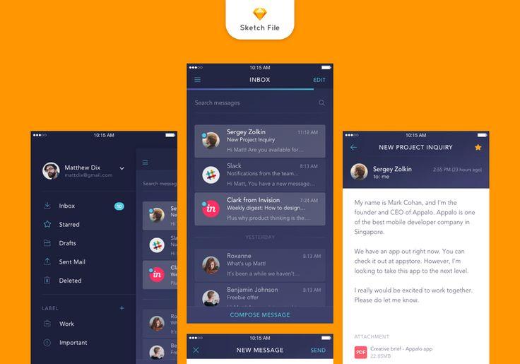 Ios Mail App Freebies