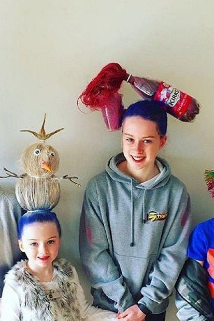 crazy hair day ideas these parents take things to a whole