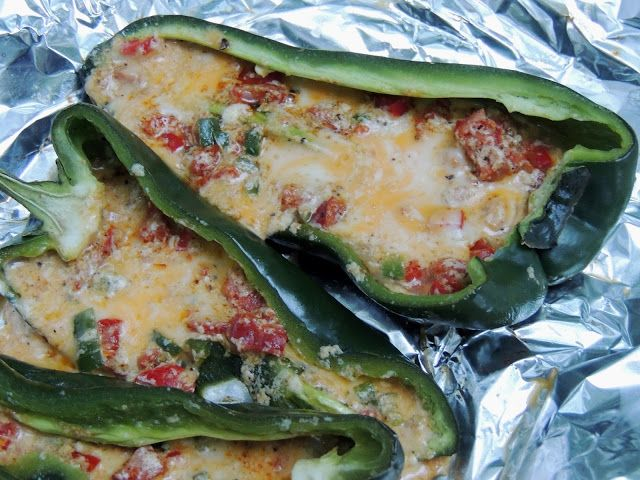 Food Blogger Gone Wild Stuffed Poblano Peppers