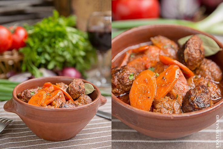 Тушеное мясо с овощами Hotpot