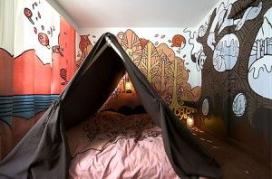 Amazing  Camping Themed Kids room ideas