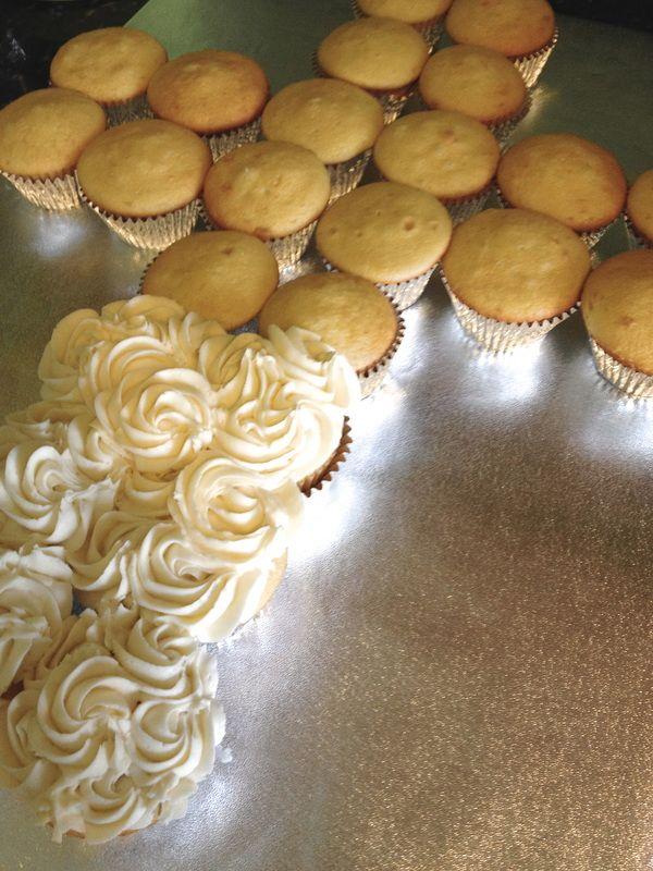 flower pull apart cake | Religious Pull Apart Cupcake Cake!
