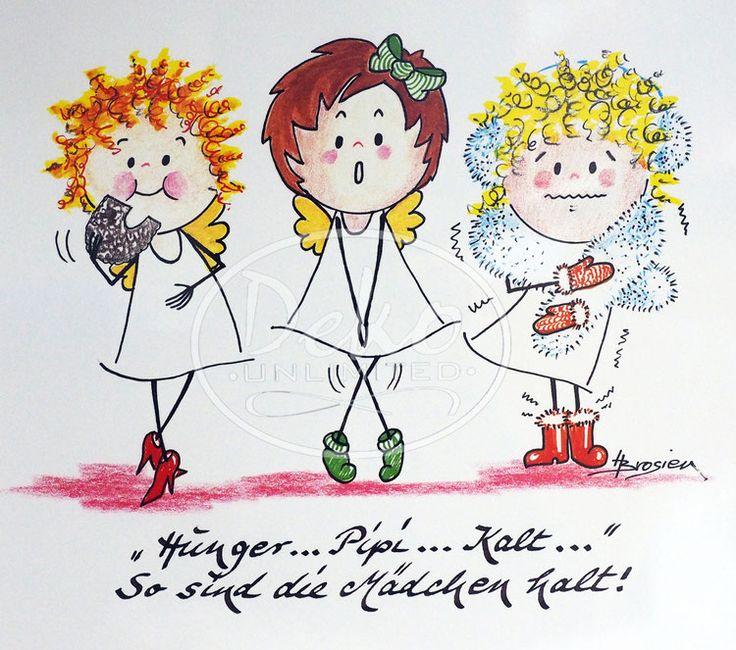 Heidemarie Brosien - HUNGER, PIPI, KALT - Passe-Partout-Bild