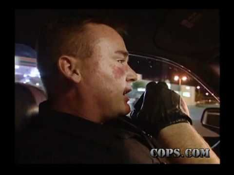 COPS TV Show, Toughest Takedowns, North Las Vegas Police Department . One of her favorite T.V. programs .