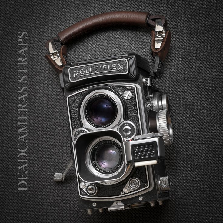Rolleiflex TLR & Deadcameras hand strap