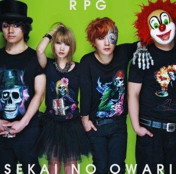"SEKAI NO OWARI ""RPG""初回限定盤Aジャケット"