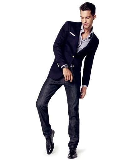 70 best images about Mens Dress Casual on Pinterest | Dark denim ...
