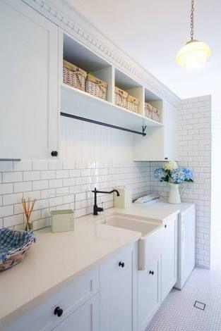 hampton style australia powder rooms - Google Search
