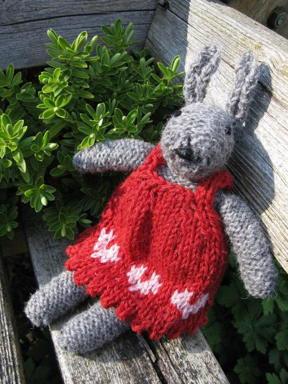 Knit your own Bunny Kit  Juliet