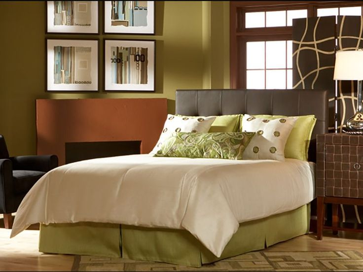 366 best images about Bedrooms on Pinterest | Leather headboard ...