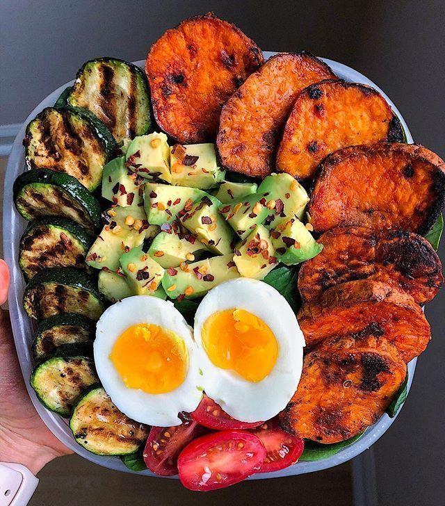 Eine weitere Mahlzeit zubereitet Gericht kommen Sie heute Sonntag Morgen 🤗 Le