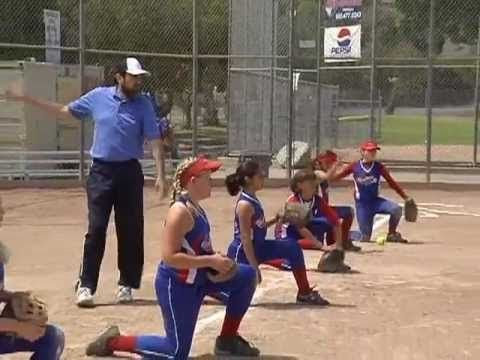 Softball Throwing Drills - The Swim Drill