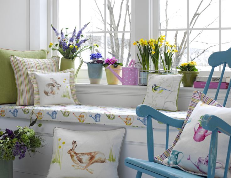 le printemps / the spring in your house / voorjaar in huis
