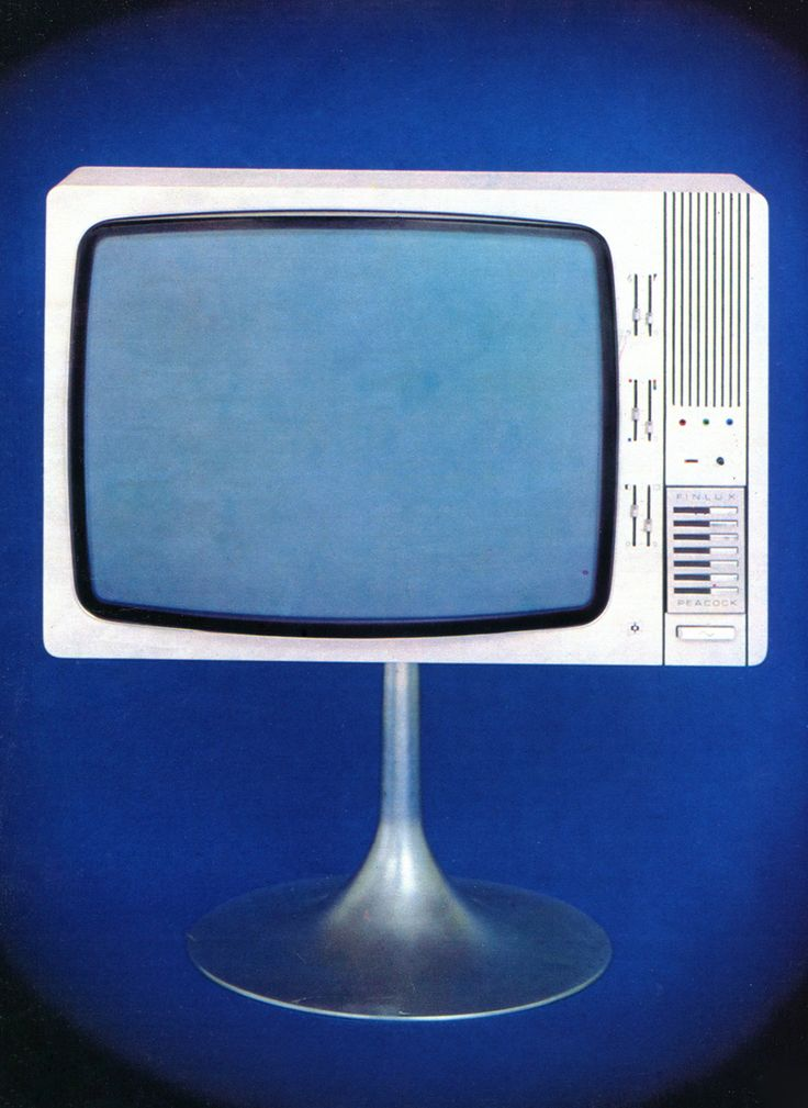 Finlux Peacock television (1972).