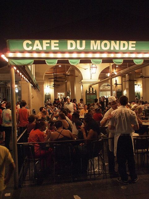 A must visit if in New Orleans, our first taste of Beignets, a taste that makes you want more.