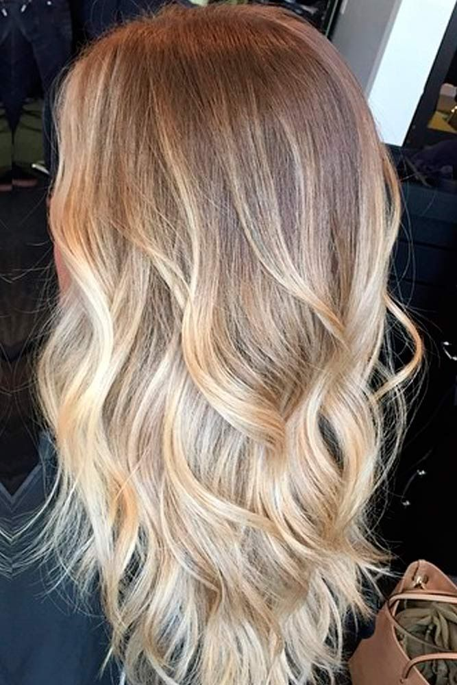 Inspiring blonde ombre hair ideas hairstyles 2017 hair of hair color ombre blonde - Ombre braun blond ...