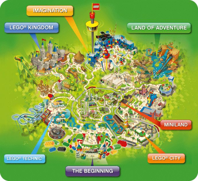 LEGOLAND® Malaysia Theme Park Map Wow, didn't know about this! Love the Legolands we have been to (California and Florida)