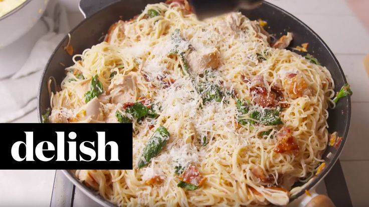Travel to Tuscany with this pasta dish! DIRECTIONS 1. In a large pot of salted boiling water, cook spaghetti according to package directions until al dente. ...