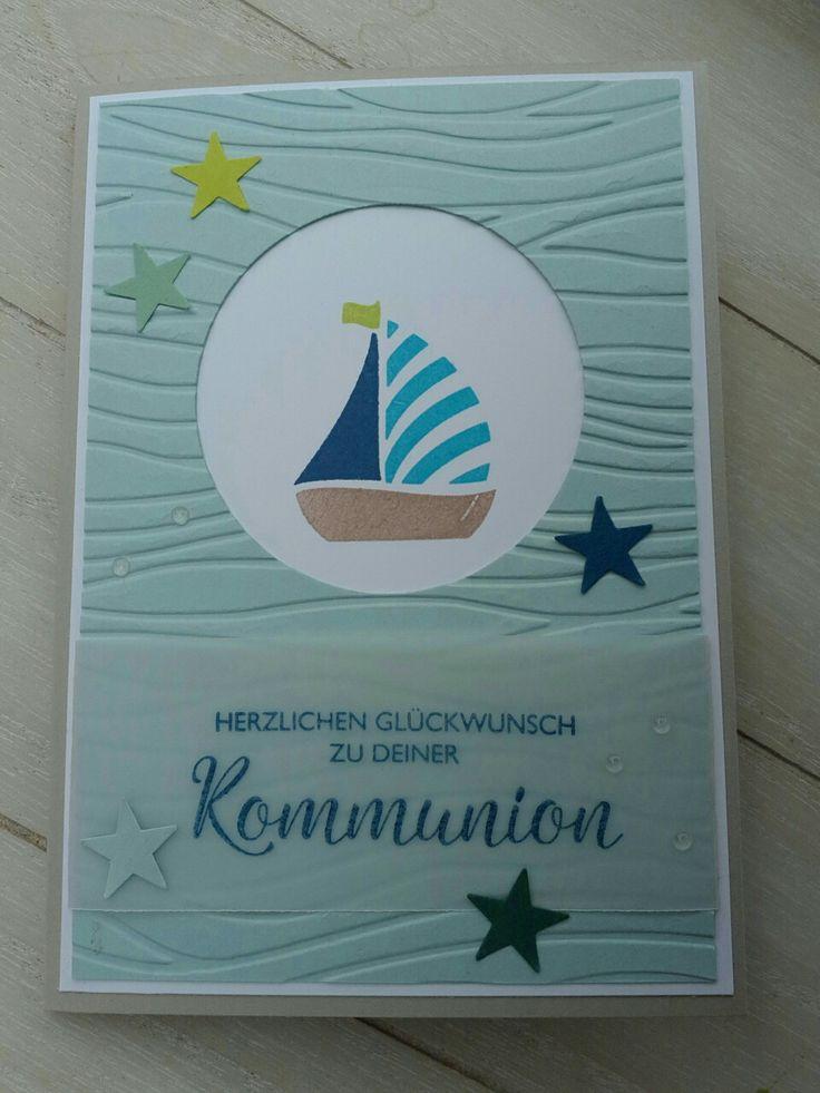 Einladung und Glückwunsch zur Kommunion