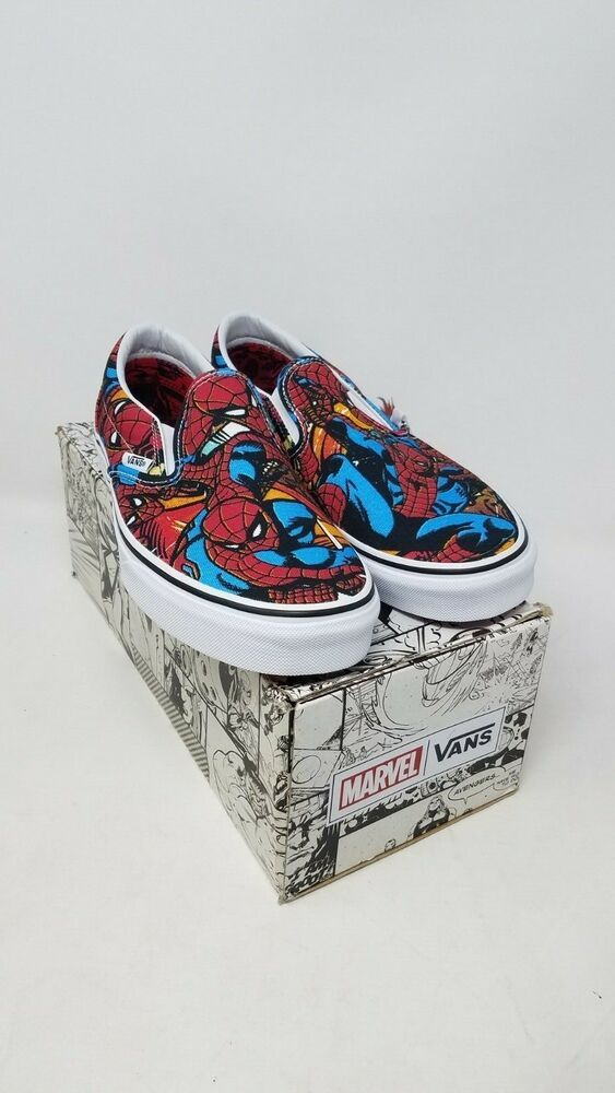 618f3862b1 Vans Classic Slip On Marvel Spiderman Multi VN0A38F79H7 Men s size 10 New   fashion  clothing  shoes  accessories  mensshoes  athleticshoes (ebay link)
