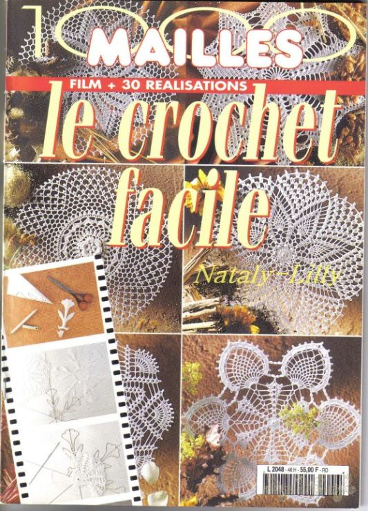 Gallery.ru / Фото #1 - 1000 Mailles Nomero special hors-serie Le Crochet facile - igoda