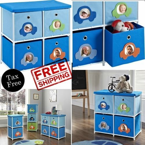 4-Bin Storage Organizer Unit Blue Childrens Furniture Collapsible Car Theme Boys #AltraFurniture #Boys #Bedroom #Furniture #Nursery #nurseryfurniture #Baby #Storage #ebay #shopping #amazon #freeshipping #walmart #buynow #homedepot #bestbuy #staples #officedepot #onlineshopping #toysrus #target