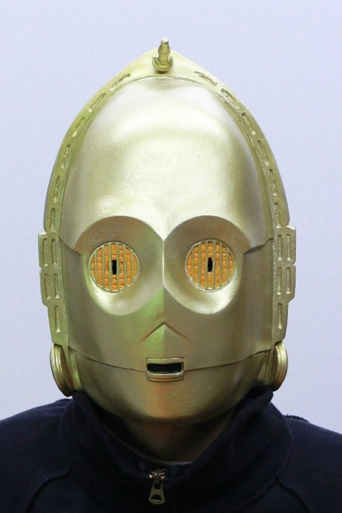 Star Wars C-3PO Full Face Rubber Mask from Japan Gift Ogawa studio NEW #Ogawastudio #Christmas