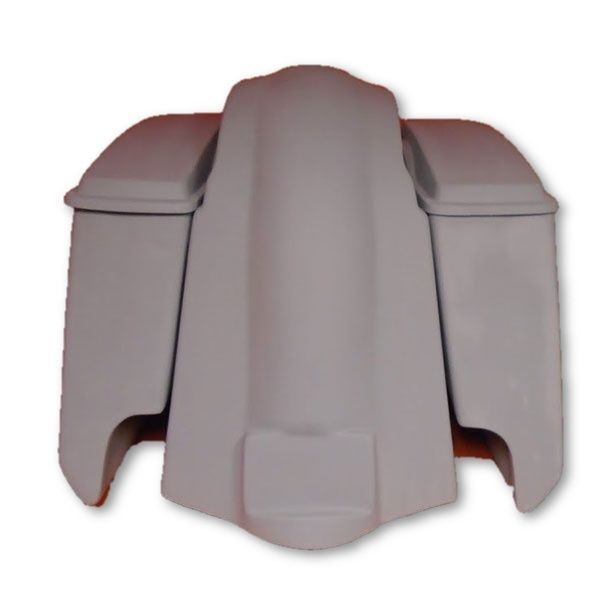 6 Extended Stretched Saddlebags And Fender For Touring Harley